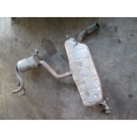 REAR SILENCER OEM N. 1K0253209C ORIGINAL PART ESED AUDI A3 8P 8PA 8P1 (2003 - 2008)DIESEL 16  YEAR OF CONSTRUCTION 2006