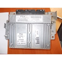 BASIC DDE CONTROL UNIT / INJECTION CONTROL MODULE . OEM N. 9632727280 ORIGINAL PART ESED CITROEN XSARA PICASSO (1999 - 2010) BENZINA 18  YEAR OF CONSTRUCTION 2000