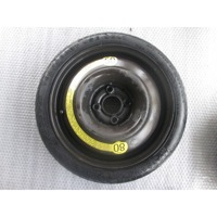 SPARE WHEEL OEM N. 105/70 ORIGINAL PART ESED ZZZ (PNEUMATICI)   YEAR OF CONSTRUCTION