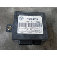 CONTROL CAR ALARM OEM N.  ORIGINAL PART ESED FIAT PUNTO 176 MK1 (1993 - 08/1999) BENZINA 11  YEAR OF CONSTRUCTION 1996