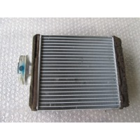 HEATER RADIATOR OEM N. 6Q0819031 ORIGINAL PART ESED VOLKSWAGEN POLO (10/2001 - 2005) DIESEL 19  YEAR OF CONSTRUCTION 2004