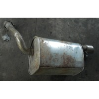 REAR SILENCER OEM N.  ORIGINAL PART ESED JAGUAR S-TYPE (1999 - 2006) BENZINA 25  YEAR OF CONSTRUCTION 2003