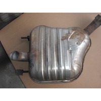 REAR SILENCER OEM N.  ORIGINAL PART ESED FIAT CROMA (2005 - 10/2007)  DIESEL 19  YEAR OF CONSTRUCTION 2006