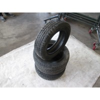 4 WINTER TIRES OEM N. 145/70 R13 ORIGINAL PART ESED ZZZ (PNEUMATICI)   YEAR OF CONSTRUCTION