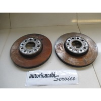 BRAKE DISC FRONT OEM N. 1K0615301AK ORIGINAL PART ESED AUDI A3 8P 8PA 8P1 (2003 - 2008)DIESEL 20  YEAR OF CONSTRUCTION 2008