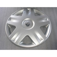 WHEEL COVERS OEM N.  ORIGINAL PART ESED RENAULT MEGANE BER/GRANDTOUR  (10/2002 - 02/2006)    YEAR OF CONSTRUCTION