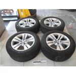 SET 4 CERCHI COMPLETO CON GOMME  OEM N.  ORIGINAL PART ESED BMW SERIE X5 E53 LCI RESTYLING (2003 - 2007) DIESEL 30  YEAR OF CONSTRUCTION 2003